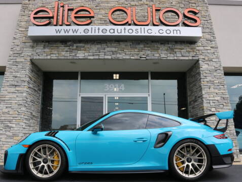 2018 Porsche 911 for sale at Elite Autos LLC in Jonesboro AR