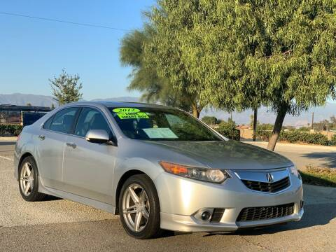 2012 Acura TSX for sale at Esquivel Auto Depot in Rialto CA
