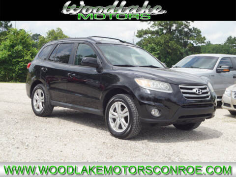 2012 Hyundai Santa Fe for sale at WOODLAKE MOTORS in Conroe TX