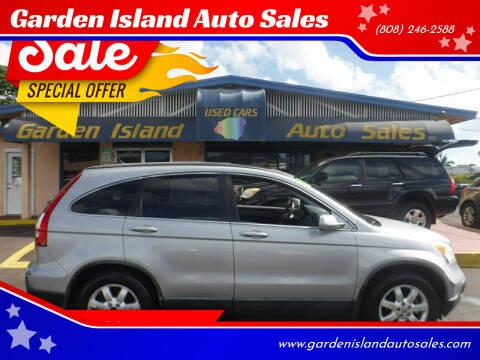2008 Honda CR-V for sale at Garden Island Auto Sales in Lihue HI