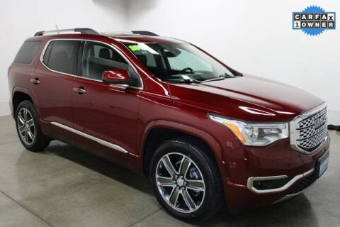2018 GMC Acadia for sale at Bob Clapper Automotive, Inc in Janesville WI