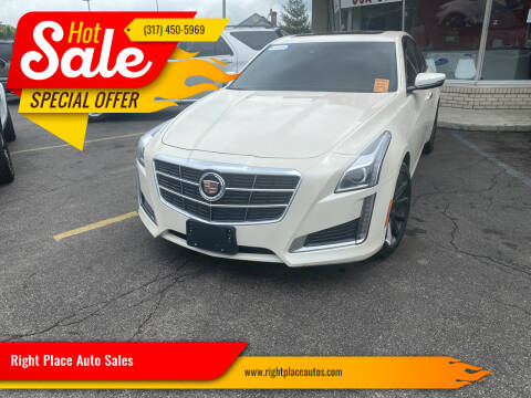 2014 Cadillac CTS for sale at Right Place Auto Sales in Indianapolis IN