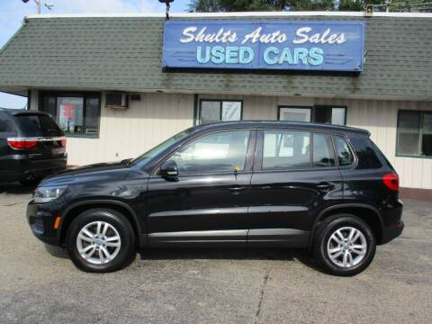 2013 Volkswagen Tiguan for sale at SHULTS AUTO SALES INC. in Crystal Lake IL