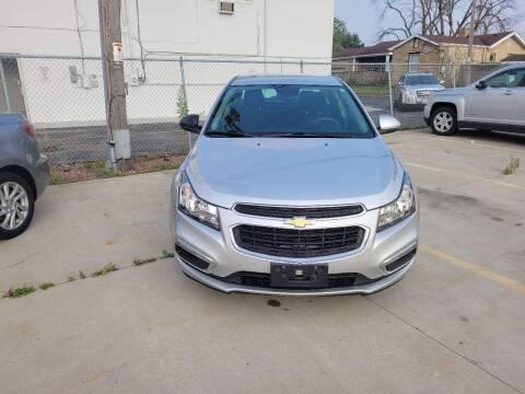 2015 Chevrolet Cruze for sale at Kenosha Auto Outlet LLC in Kenosha WI