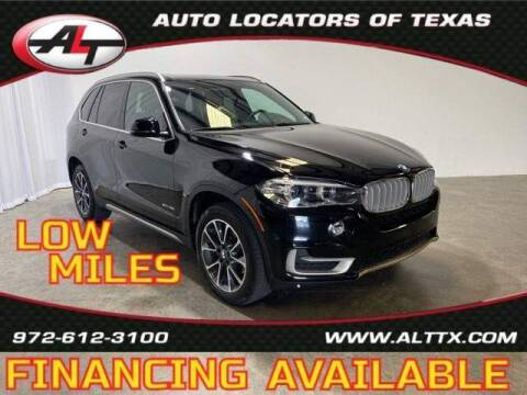 2018 BMW X5 for sale at AUTO LOCATORS OF TEXAS in Plano TX