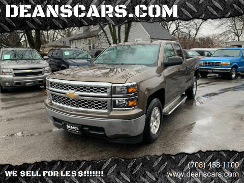 2014 Chevrolet Silverado 1500 for sale at DEANSCARS.COM in Bridgeview IL