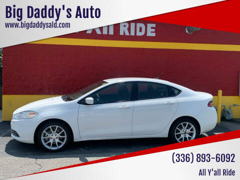 2013 Dodge Dart for sale at Big Daddy's Auto in Winston-Salem NC