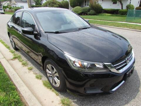 2015 Honda Accord for sale at First Choice Automobile in Uniondale NY