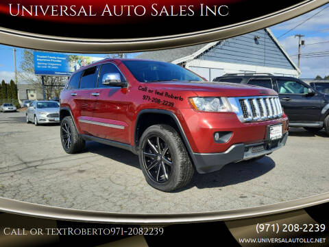2013 Jeep Grand Cherokee for sale at Universal Auto Sales Inc in Salem OR