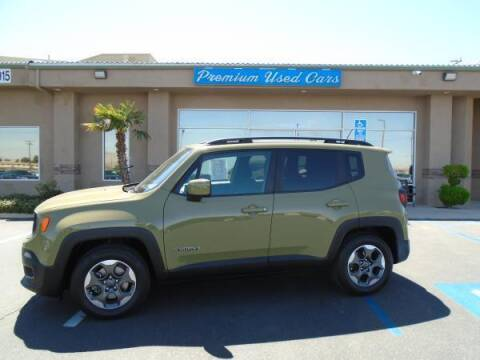 2015 Jeep Renegade for sale at Family Auto Sales in Victorville CA