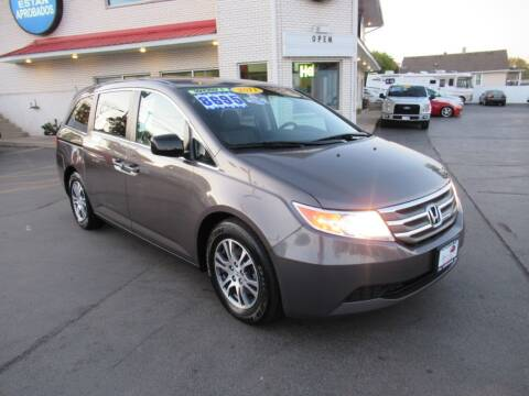 2011 Honda Odyssey for sale at Auto Land Inc in Crest Hill IL