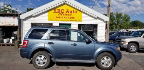 2012 Ford Escape for sale at ABC AUTO CLINIC in Chubbuck ID
