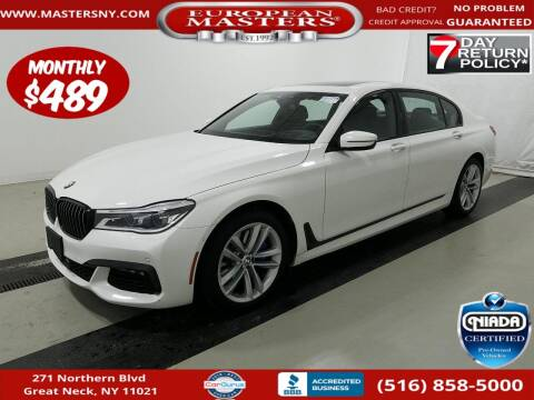 2018 BMW 7 Series for sale at European Masters in Great Neck NY