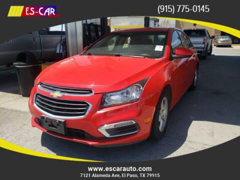2016 Chevrolet Cruze Limited for sale at Escar Auto in El Paso TX