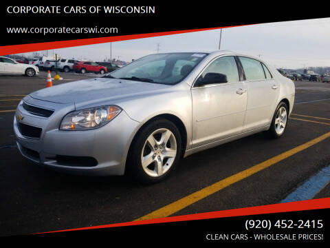 2011 Chevrolet Malibu for sale at CORPORATE CARS OF WISCONSIN - DAVES AUTO SALES OF SHEBOYGAN in Sheboygan WI
