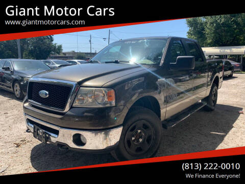 2008 Ford F-150 for sale at Giant Motor Cars in Tampa FL