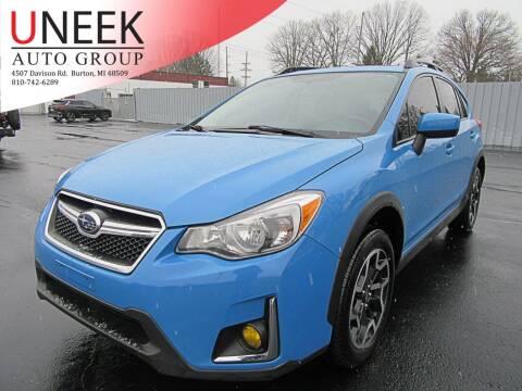 2016 Subaru Crosstrek for sale at Uneek Auto Group LLC in Burton MI