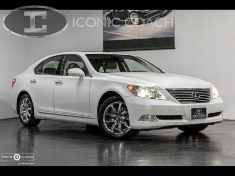 2008 Lexus LS 460 for sale at Iconic Coach in San Diego CA