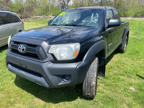 2012 Toyota Tacoma for sale at Richard C Peck Auto Sales in Wellsville NY