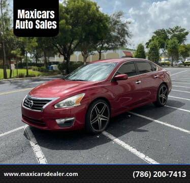 2015 Nissan Altima for sale at Maxicars Auto Sales in West Park FL