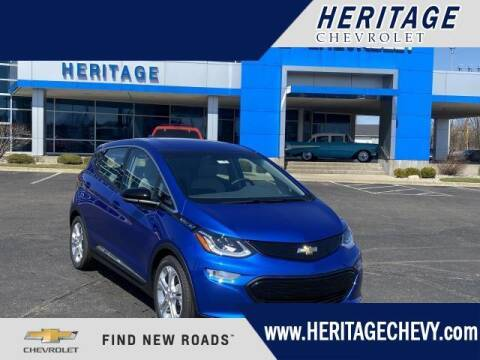 2021 Chevrolet Bolt EV for sale at HERITAGE CHEVROLET INC in Creek MI