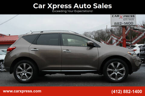 2014 Nissan Murano for sale at Car Xpress Auto Sales in Pittsburgh PA