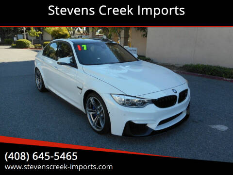 2017 BMW M3 for sale at Stevens Creek Imports in San Jose CA