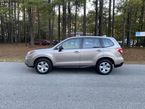 2016 Subaru Forester for sale at H&C Auto in Oilville VA