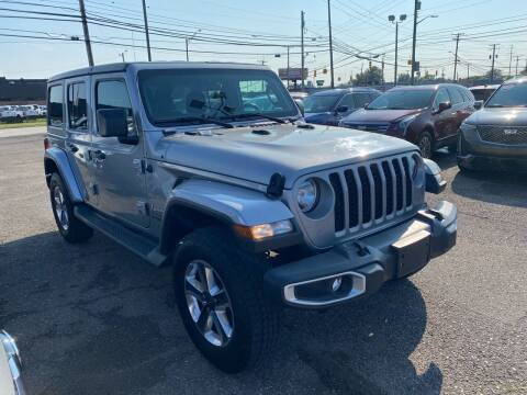 2020 Jeep Wrangler Unlimited for sale at M-97 Auto Dealer in Roseville MI