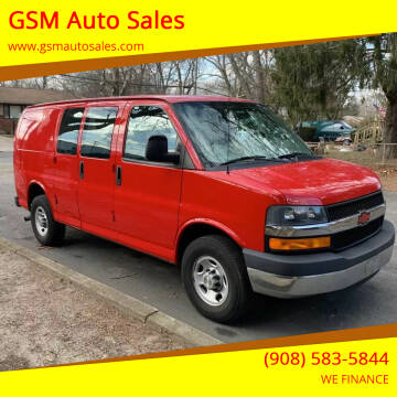 2013 Chevrolet Express Cargo for sale at GSM Auto Sales in Linden NJ