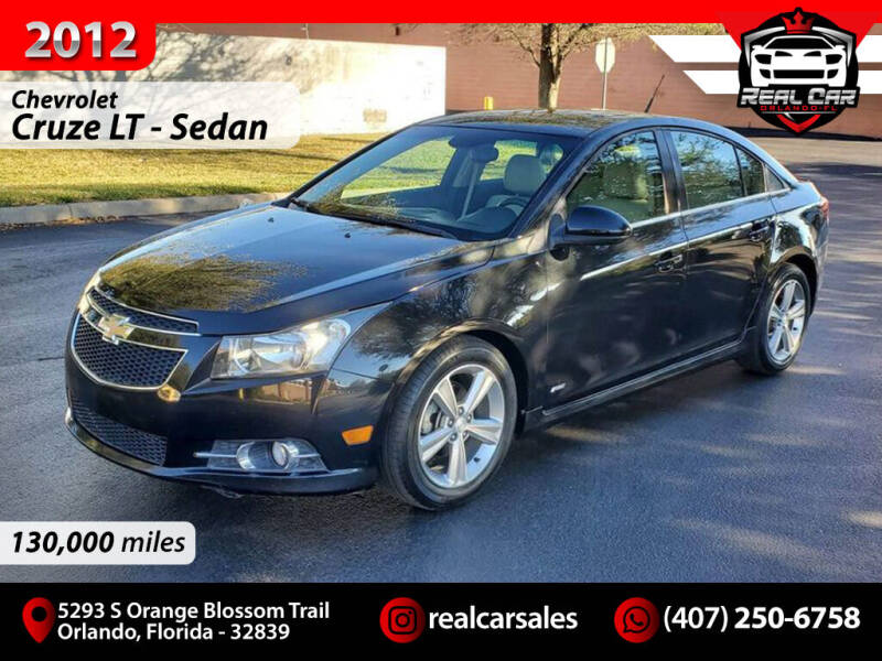 2012 Chevrolet Cruze for sale at Real Car Sales in Orlando FL