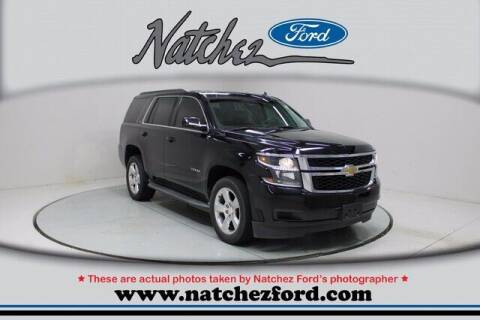 2015 Chevrolet Tahoe for sale at Auto Group South - Natchez Ford Lincoln in Natchez MS
