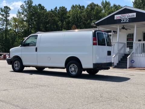 2007 Chevrolet Express Cargo for sale at CVC AUTO SALES in Durham NC