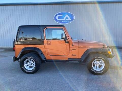 2002 Jeep Wrangler for sale at City Auto in Murfreesboro TN