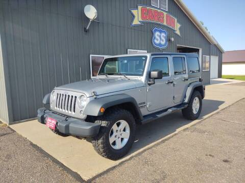 2016 Jeep Wrangler Unlimited for sale at CARS ON SS in Rice Lake WI