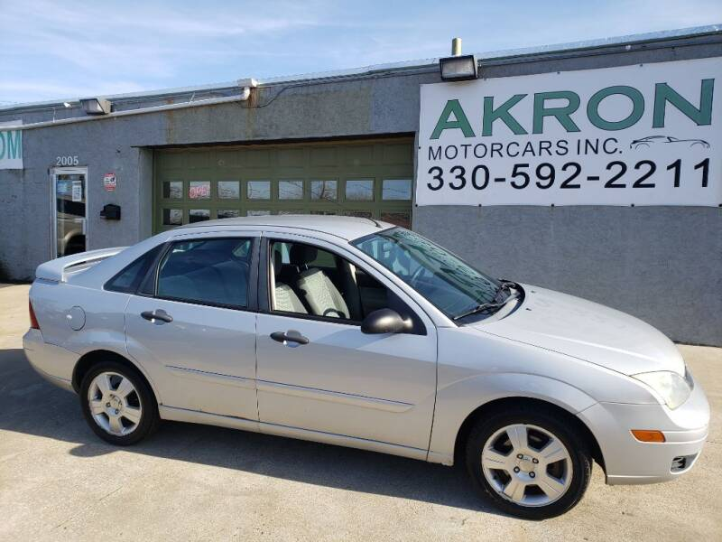 2007 Ford Focus for sale at Akron Motorcars Inc. in Akron OH
