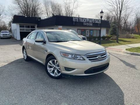 2011 Ford Taurus for sale at Rite Track Auto Sales in Canton MI