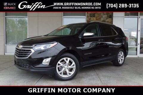 2018 Chevrolet Equinox for sale at Griffin Buick GMC in Monroe NC
