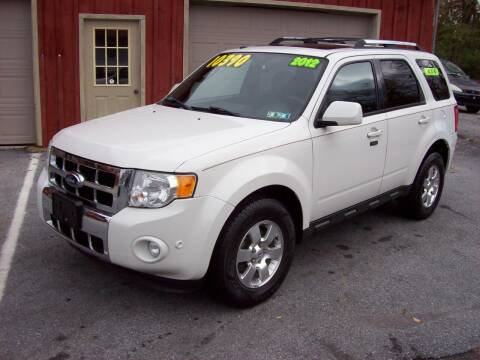 2012 Ford Escape for sale at Clift Auto Sales in Annville PA