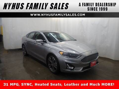 2020 Ford Fusion for sale at Nyhus Family Sales in Perham MN
