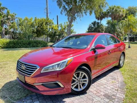 2016 Hyundai Sonata for sale at Citywide Auto Group LLC in Pompano Beach FL