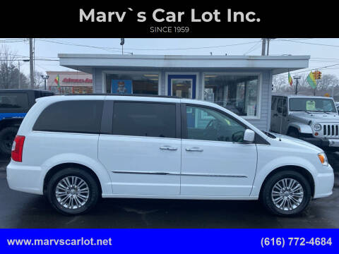 2016 Chrysler Town and Country for sale at Marv`s Car Lot Inc. in Zeeland MI