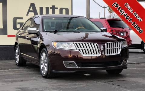 2012 Lincoln MKZ for sale at H1 Auto Group in Sacramento CA