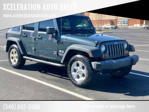 2007 Jeep Wrangler Unlimited for sale at XCELERATION AUTO SALES in Chester VA