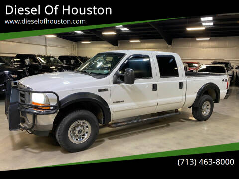 2001 Ford F-250 Super Duty for sale at Diesel Of Houston in Houston TX