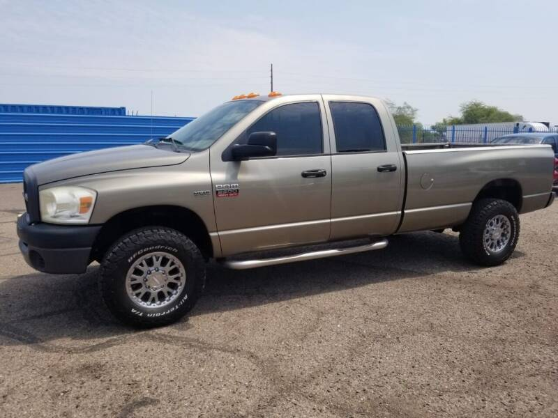 2008 Dodge Ram Pickup 2500 for sale at CAMEL MOTORS in Tucson AZ