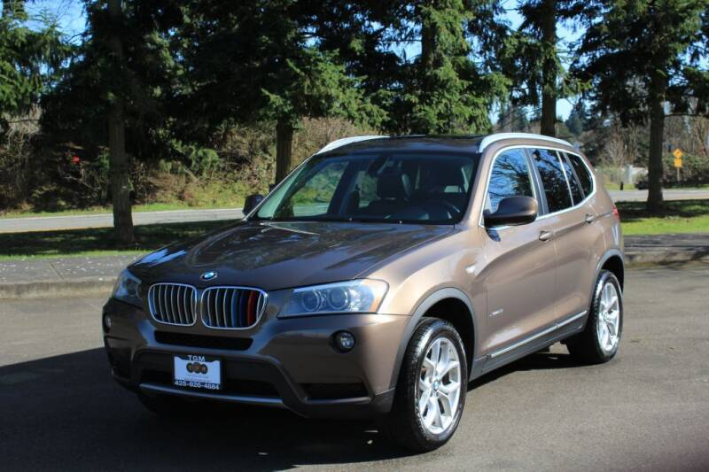 2011 BMW X3 for sale at Top Gear Motors in Lynnwood WA
