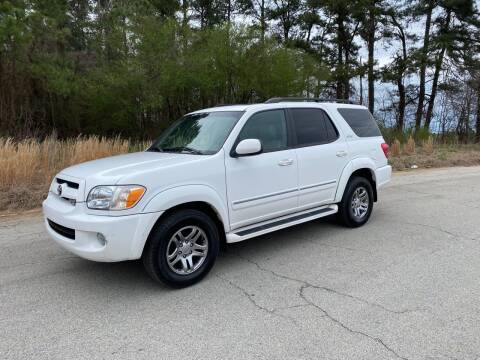 2007 Toyota Sequoia for sale at GTO United Auto Sales LLC in Lawrenceville GA