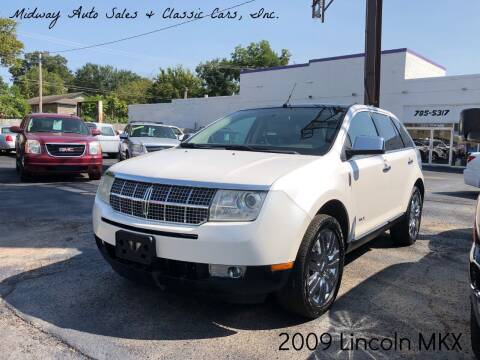 2009 Lincoln MKX for sale at MIDWAY AUTO SALES & CLASSIC CARS INC in Fort Smith AR