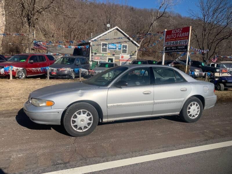 2001 Buick Century for sale at Korz Auto Farm in Kansas City KS